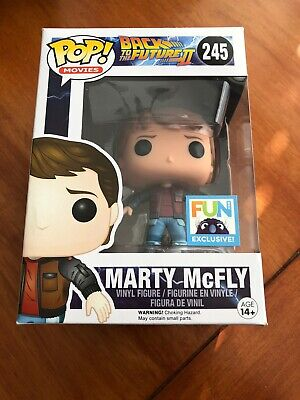 Marty Mcfly Hoverboard (Funko POP! Back To The Future II #245 Marty McFly On Hoverboard)