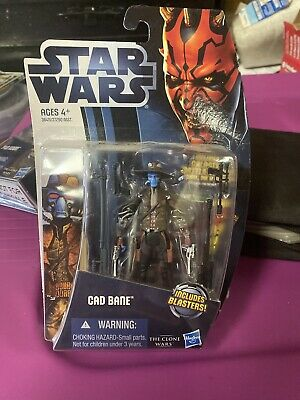 Star Wars: Clone Wars 2012 Animated Series Cad Bane Action Figure Free Shipping