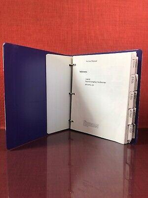 Tektronix 11801b Digital Sampling Oscilloscope Service Manual 070-8781-01 2151