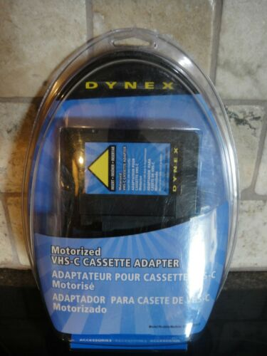 Dynex VHS-C To VHS Cassette Tape Adapter DX-DA100611 Sealed - BRAND NEW