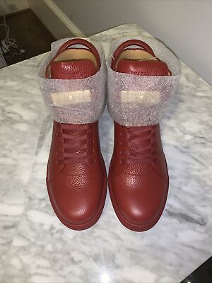 Buscemi Sneakers Men 100mm High-Top Red