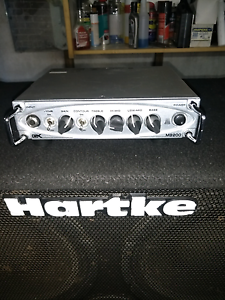 Hartke Bass speakers + gk mb200 Lethbridge Park Blacktown Area Preview