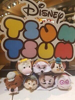 Disney Adventures Of Ichabod & Mr Toad TSUM TSUM SET OF 7 NWT