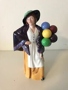 Royal Doulton -  Balloon Lady HN 2935 Hazelwood Park Burnside Area Preview