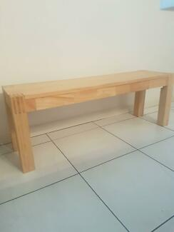 Wooden Bench Seat In Great Condition
