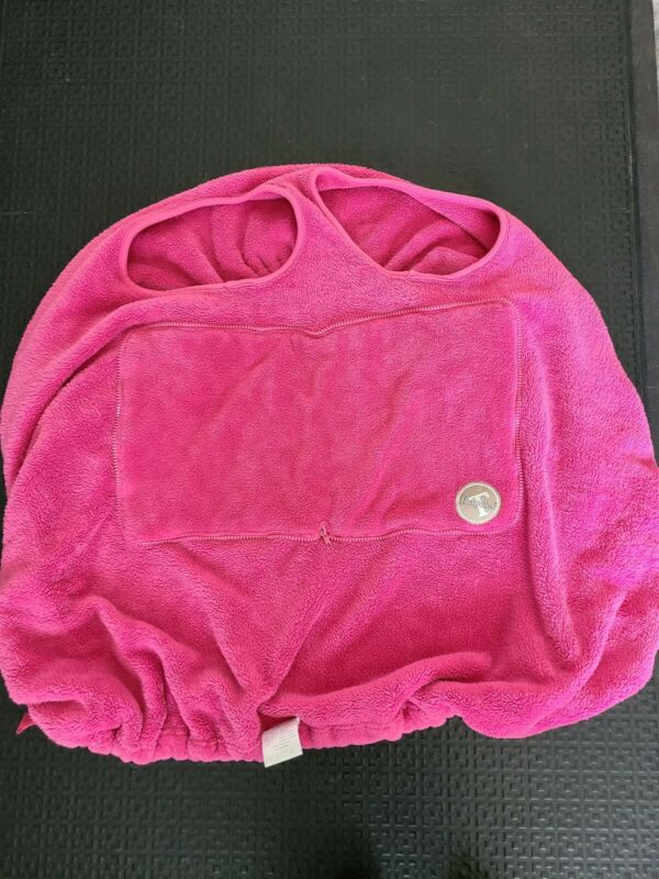 cover TADPOLES Pink Baby Child Shopping Cart or high chair Cover and bag EUC