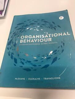Textbook - Organisational Behaviour (McShane et al.)