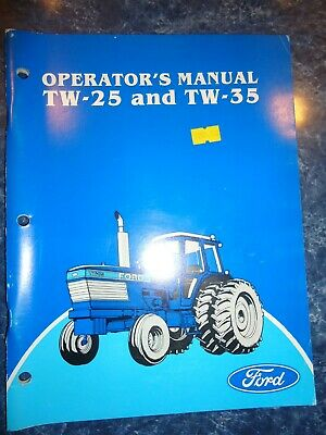 Ford Tw-25 Tw-35 Tractor