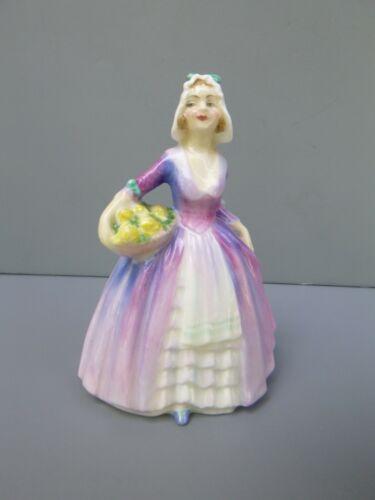 "Royal Doulton Miniature 4"" Lady Figurine Janet M75"