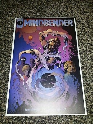 Mindbender #1 Cover A First Print Scout Comics James Pruett