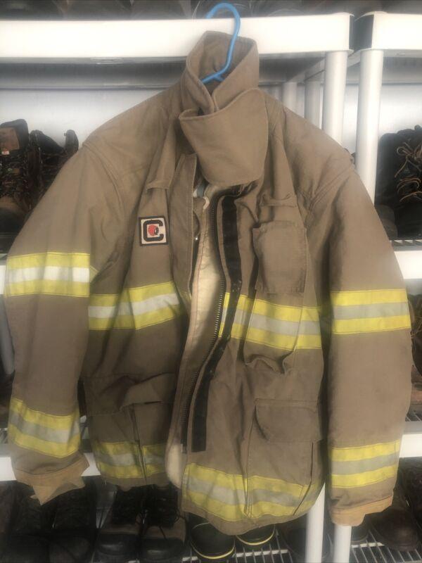 Chieftain Bunker Turnout Coat Jacket Size XL