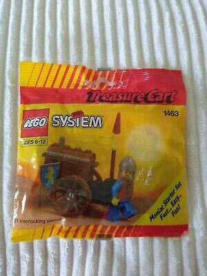 Lego System 1463 Castle Crusaders Treasure Cart, NIP, sealed package