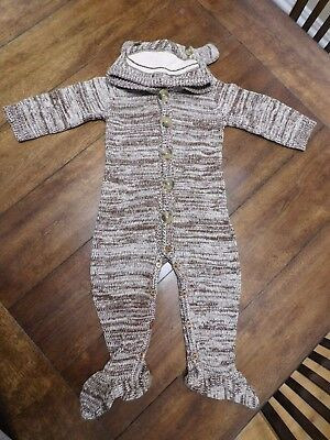 Crazy 8 SOCK MONKEY Outfit Baby Toddler Costume 12-18 months 12M 18M Brown - Crazy Baby Costumes