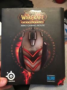 Wold of Warcraft mouse by steel series
