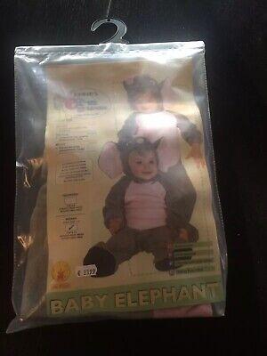 Fastnachtskostüm Größe 68-80🐘💞🎉 (Elefanten Baby Kostüm)