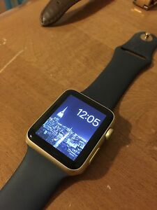 Apple Watch 42mm with warranty GOLD