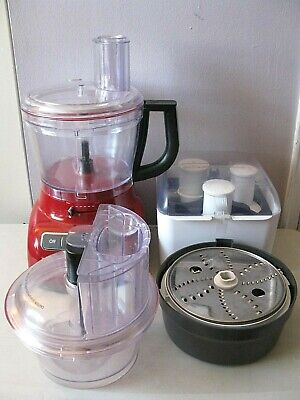 KITCHENAID FOOD PROCESSOR & ATTACHMENTS -- KFP1355ER -- 13 CUP -- FULL SIZE