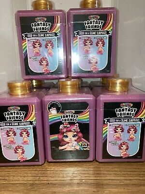 Poopsie Rainbow Surprise Fantasy Friends Spit Sparkly Slime Glitter Lot of 8 Set