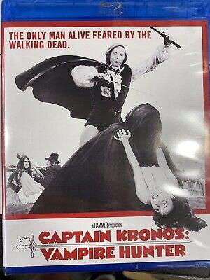 Captain Kronos Vampire Hunter Region A Blu ray