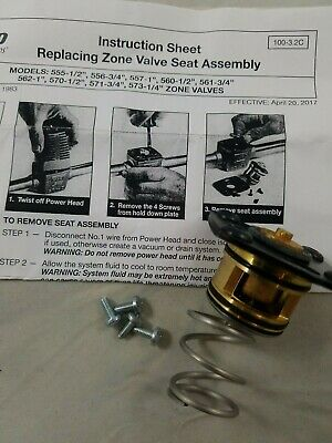 Taco 562-015rp 3 Way Zone Valve Repair Kit 34 And 1 New Replacement Item