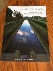 Landscape Design A Cultural and Architectural History Text Book