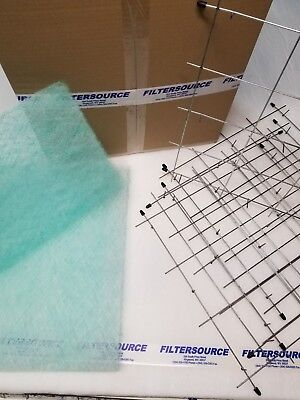 Paint Spray Booth 20x20 Exhaust Filter Set
