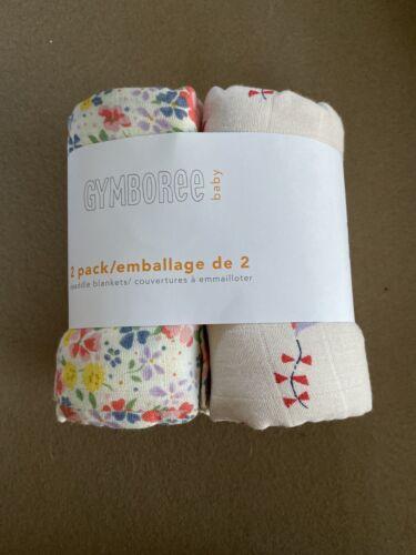 Gymboree Baby 2-Pack Swaddle Blanket - Floral