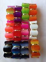 Fashion Bracelet Colorido Grueso Plástico Elástico Cordón Funky Talla Única Sty2 -  - ebay.es