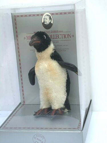 VINTAGE STEIFF PENGUIN 0105/17 REPLICA 1928 MUSEUM COLLECTION LIMITED EDITION