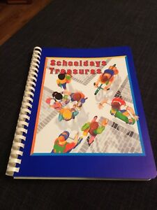 Schooldays treasures book