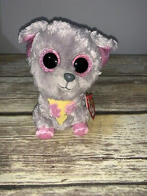 Ty Beanie Boos Squeaker Mouse Plush Stuffed New with Tag