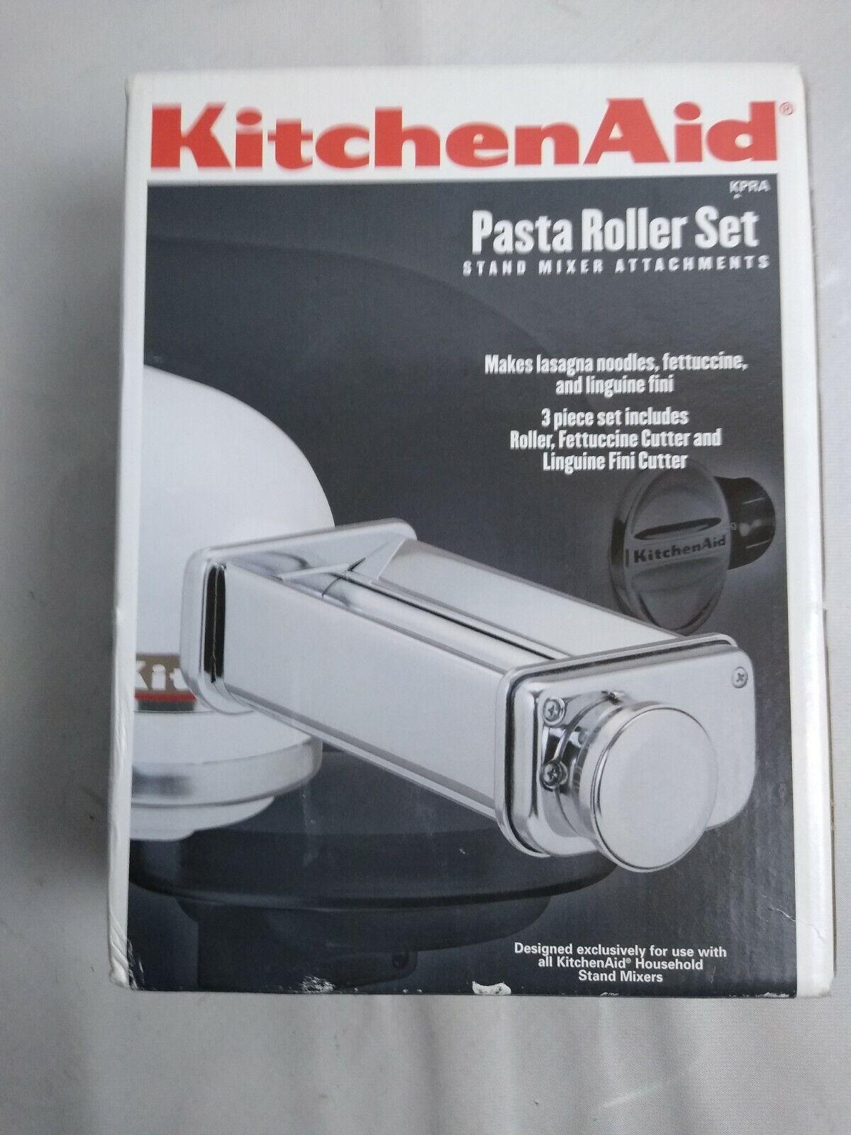 KitchenAid KPRA 3-Piece Pasta Roller and Cutter Set 2 pieces
