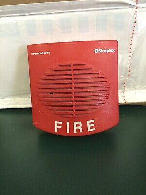 4901-9820 Simplex Fire Alarm Horn