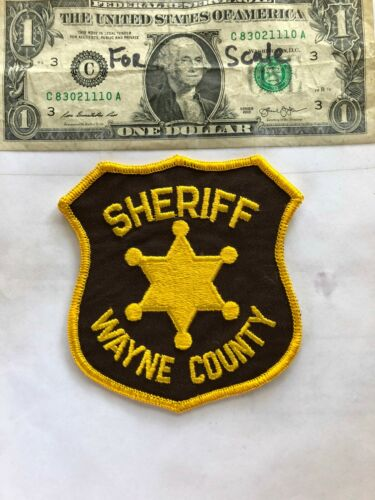 Old Wayne County Indiana Police Patch Un-sewn great shape