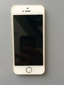 White/Rose Gold iPhone 5s - 16 GB
