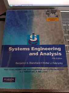 Systems Engineering and Analysis: International Edition Maryland Newcastle Area Preview