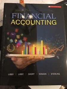 Financial accounting 6th Canadian Ed