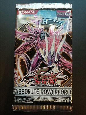 Booster -- YuGioh Absolute Powerforce -- 1.Auflage -- deutsch -- OVP Sealed
