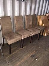 Dining table and 4 chairs Billabong/ Urban chairs West Gosford Gosford Area Preview