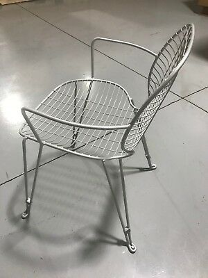 Cafe Patio Chair - Outdoor patio, balcony, cafe, industrial chair