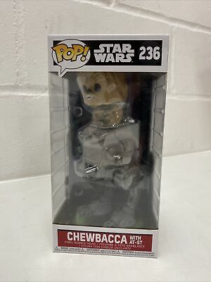 Star Wars Chewbacca With AT-ST Funko Pop Vinyl Bobble Head 236