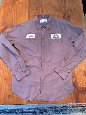 Wacko Maria The Guilty Parties Shirt Purple XL Tokyo Japan