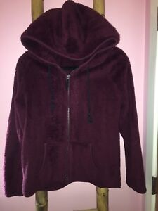 Fuzzy American Eagle Hoodie