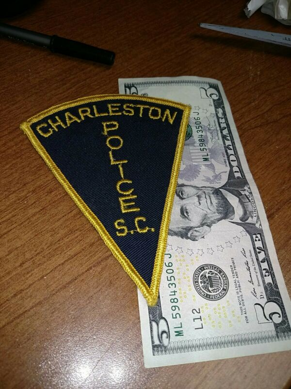 Vintage Charleston South Carolina Police Department Patch New Old Stock
