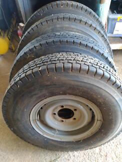 Landcruiser rims tyres