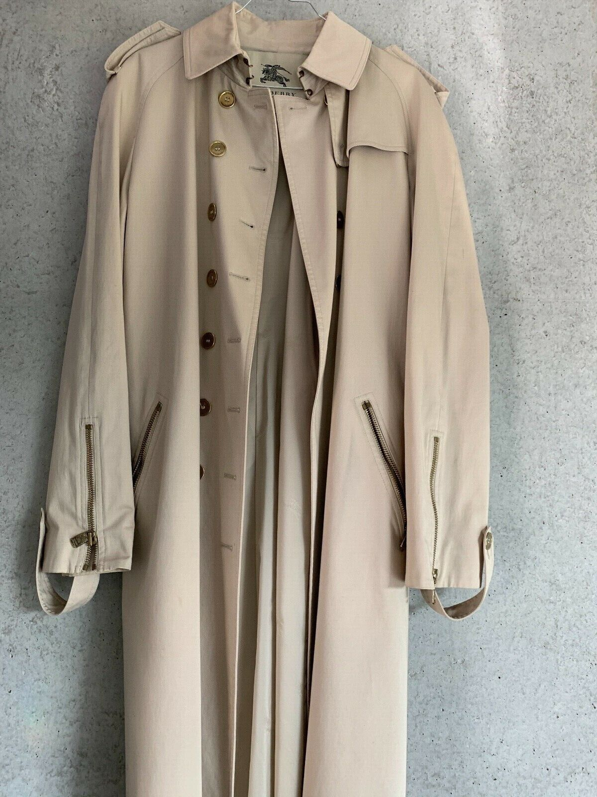 Trench coat  burberrys coupe moderne femme taille 44(fr) 16(uk)