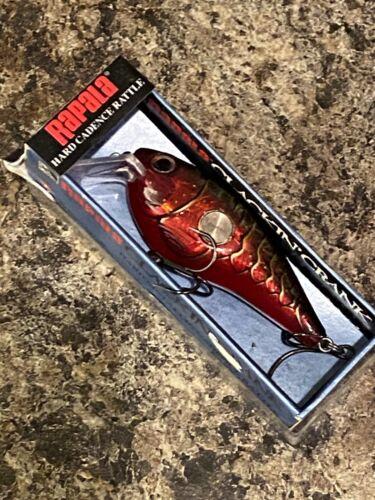 RAPALA CLACKIN CRANK 610/'s--lot of 3 HOT MUSTARD COLORED-FISHING LURES-CNC610