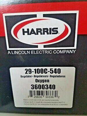Harris Regulator 29-100c-540