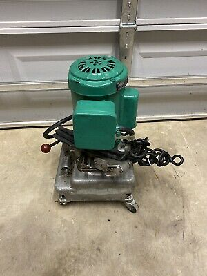 Tested Greenlee 960 10000 Psi Electric Hydraulic Pump Ed4u 8223