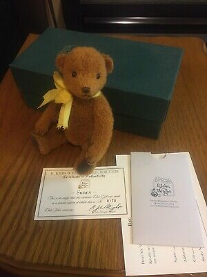 R. JOHN WRIGHT 2004 SUNNY COLLECTORS CLUB WITH COA 0170 of 445